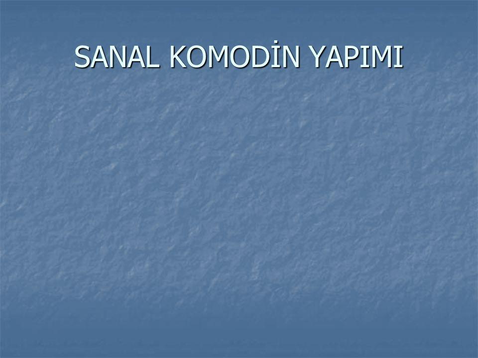 SANAL KOMODİN YAPIMI