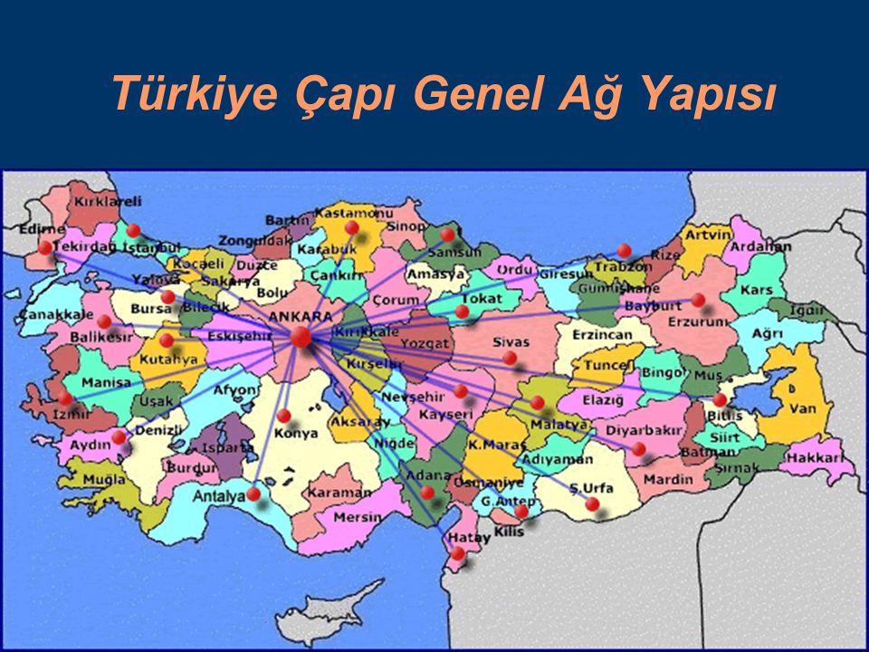 Türkiye Çapı Genel Ağ Yapısı
