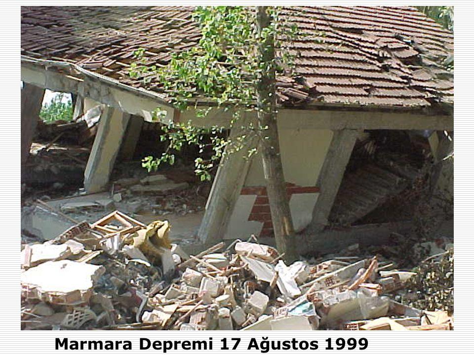 Marmara Depremi 17 Ağustos 1999