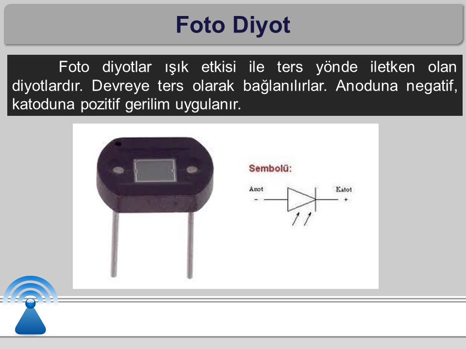 LED Diyot LED'e doğru polarma uygulandığında P maddesindeki oyuklarla N maddesindeki elektronlar birleşim yüzeyinde nötrleşir.