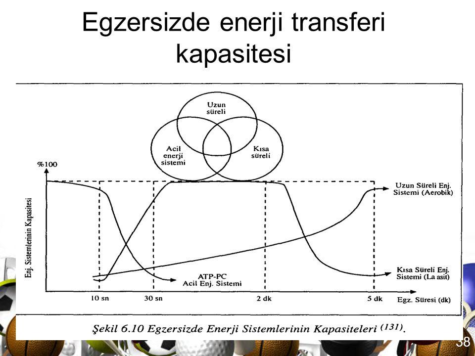 37 Uzun süreli egzersizlerde enerji metabolizması