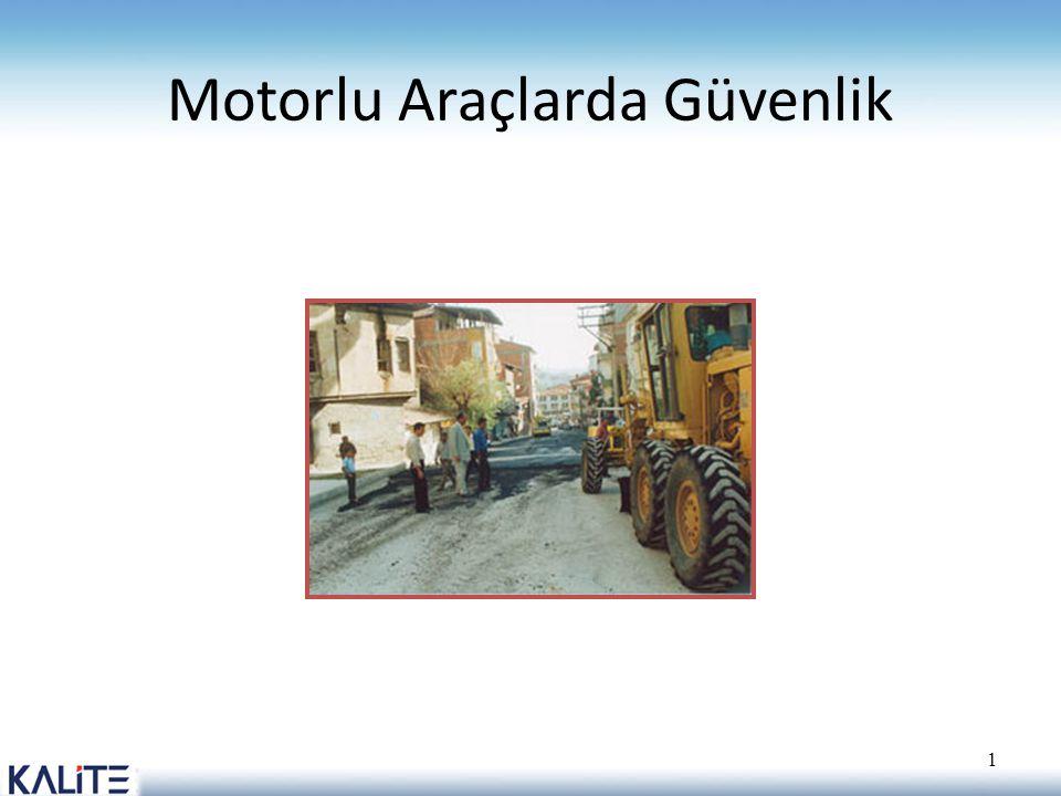 Motorlu Araçlarda Güvenlik 1