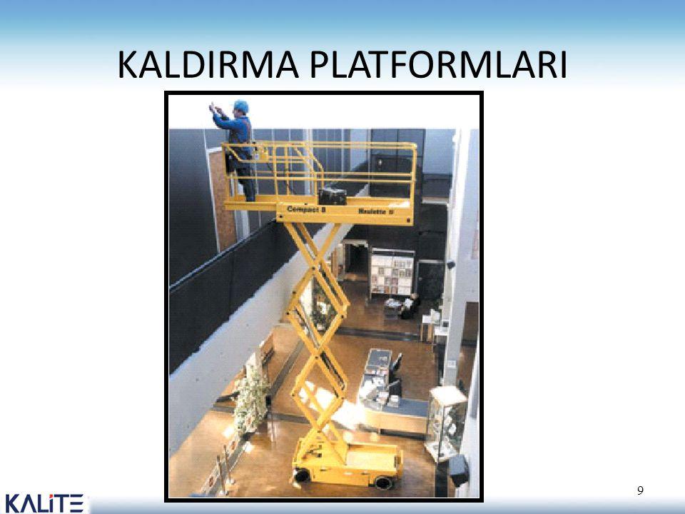 KALDIRMA PLATFORMLARI 9