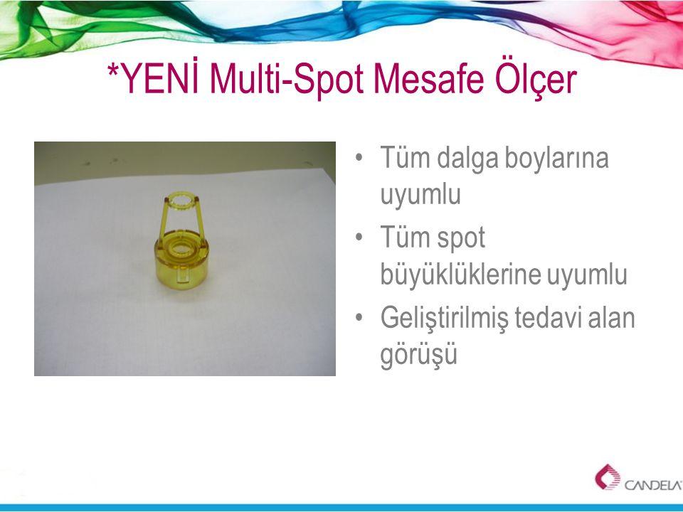*YENİ Multi-Spot Mesafe Ölçer •Tüm dalga boylarına uyumlu •Tüm spot büyüklüklerine uyumlu •Geliştirilmiş tedavi alan görüşü