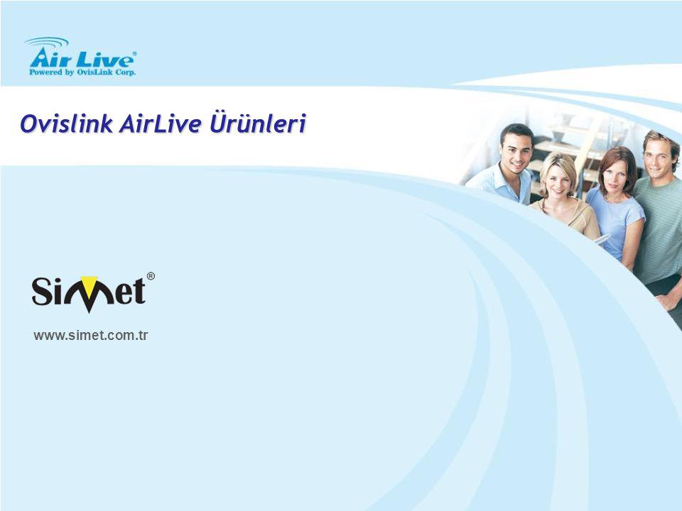 Ovislink AirLive Ürünleri www.simet.com.tr
