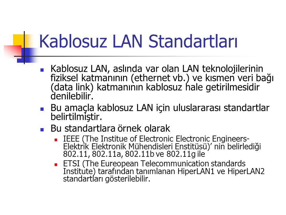 Dikkat Edilecek Özellikleri  Frekans bandı: Cihazın çalıştığı frekans aralığı (MHz olarak).