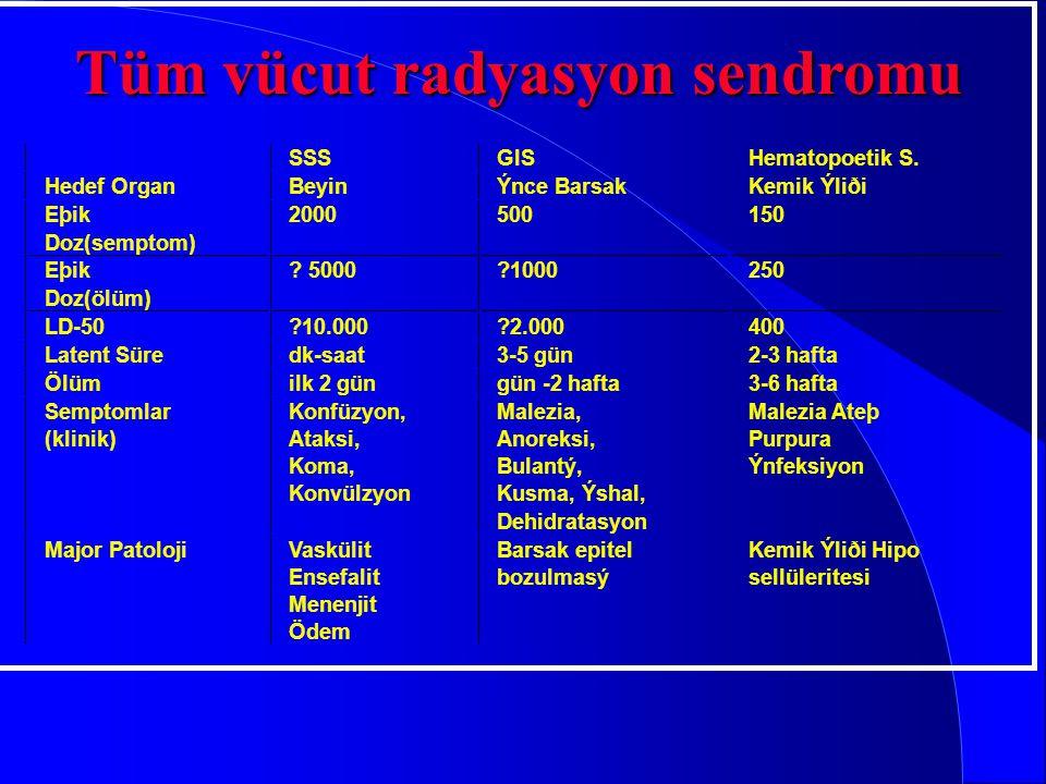Tüm vücut radyasyon sendromu