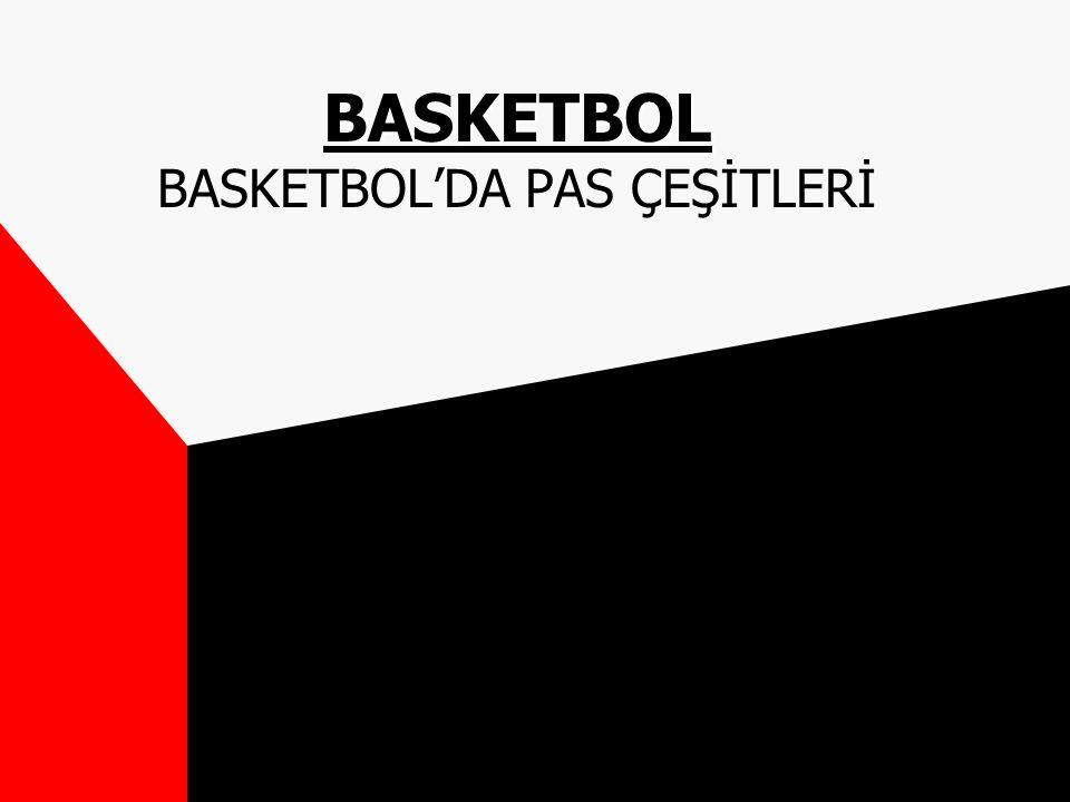 BASKETBOL BASKETBOL BASKETBOL'DA PAS ÇEŞİTLERİ