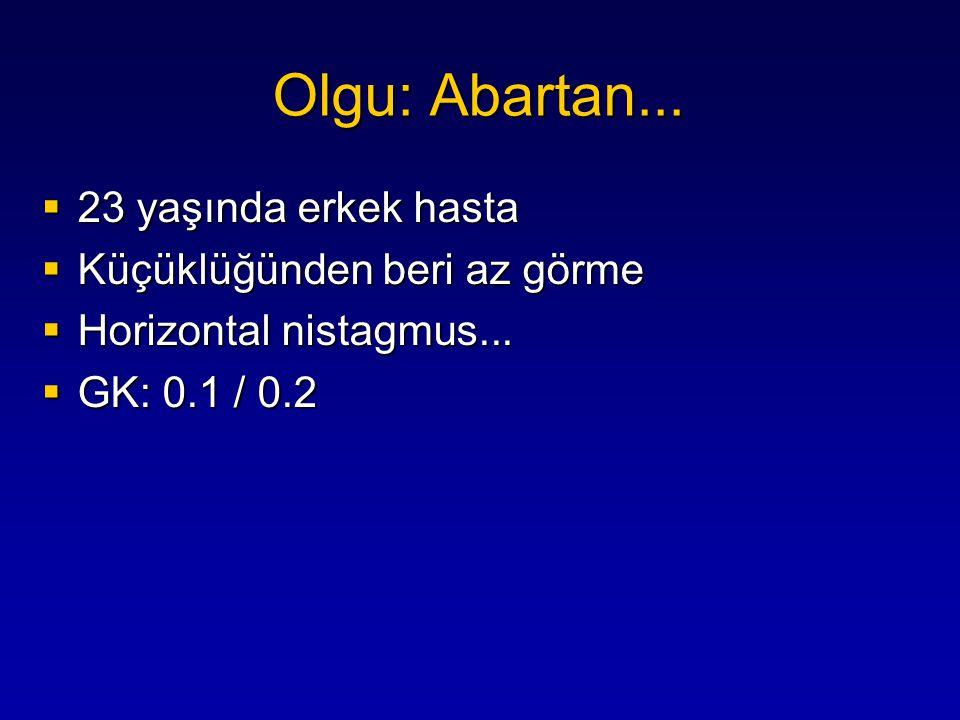...Cesaretlendirme GK: → 0.5/0.5 Olgu: Abartan...