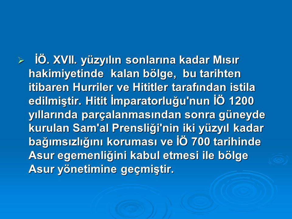  İÖ.XVII.
