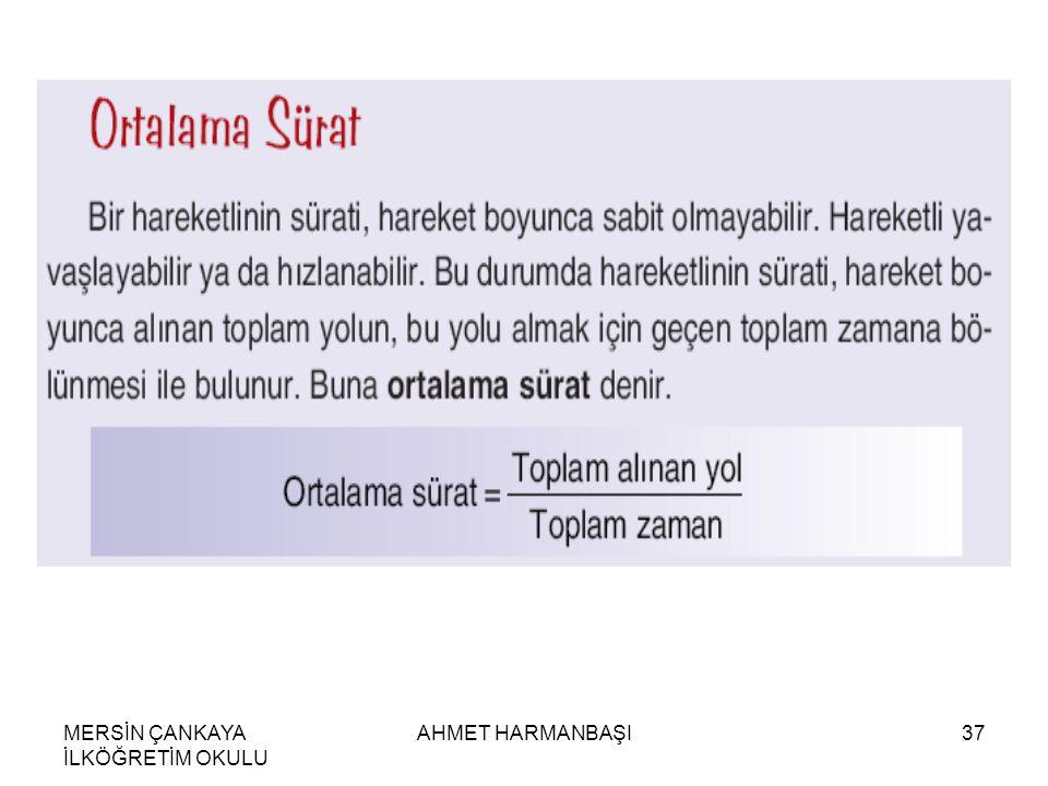 MERSİN ÇANKAYA İLKÖĞRETİM OKULU AHMET HARMANBAŞI37