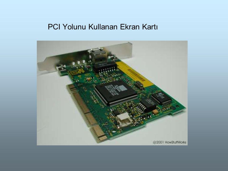 PCI Yolunu Kullanan Ekran Kartı