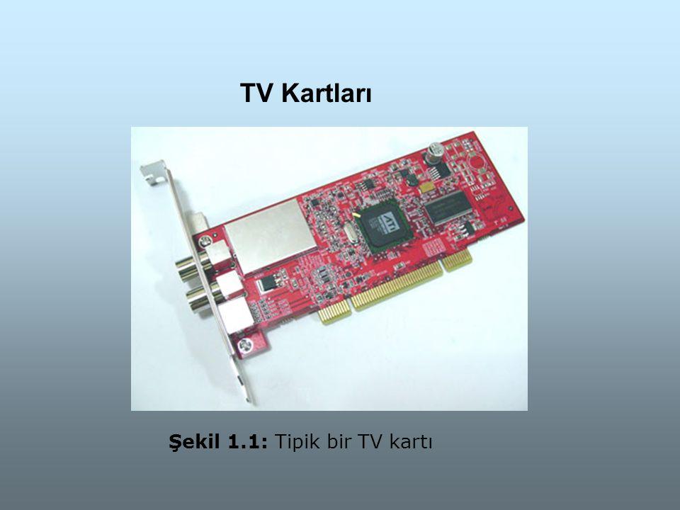 TV Kartları Şekil 1.1: Tipik bir TV kartı