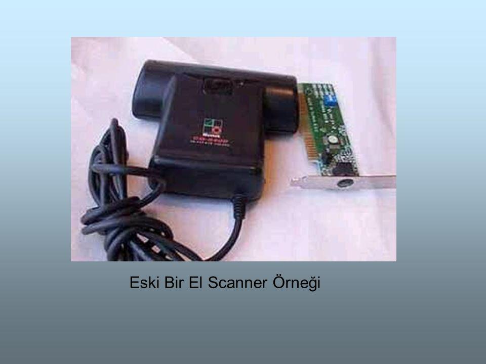 Eski Bir El Scanner Örneği