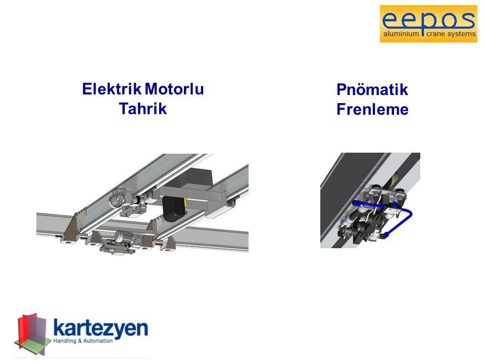 Elektrik Motorlu Tahrik Pnömatik Frenleme