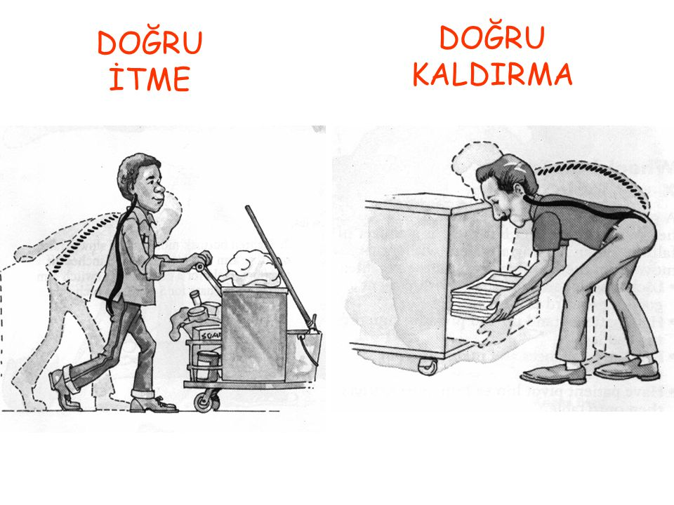 DOĞRU İTME DOĞRU KALDIRMA