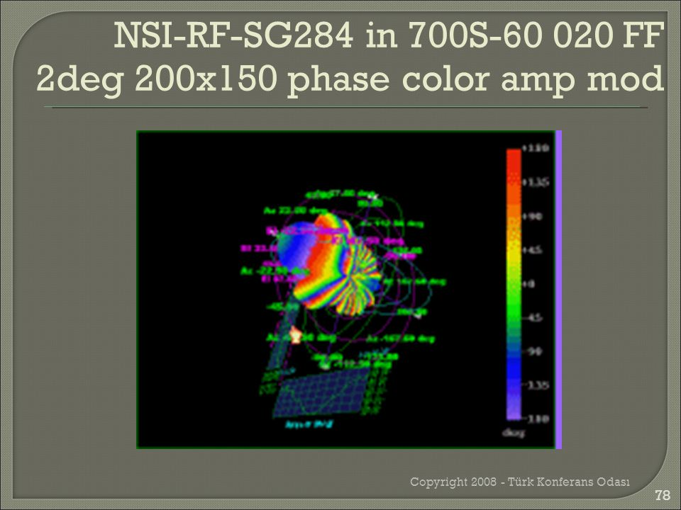 Copyright 2008 - Türk Konferans Odası NSI-RF-SG284 in 700S-60 020 FF 2deg 200x150 phase color amp mod 78