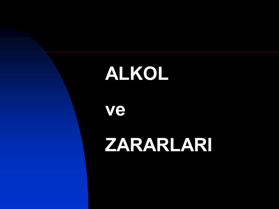 ALKOL ve ZARARLARI Alt başlık buraya