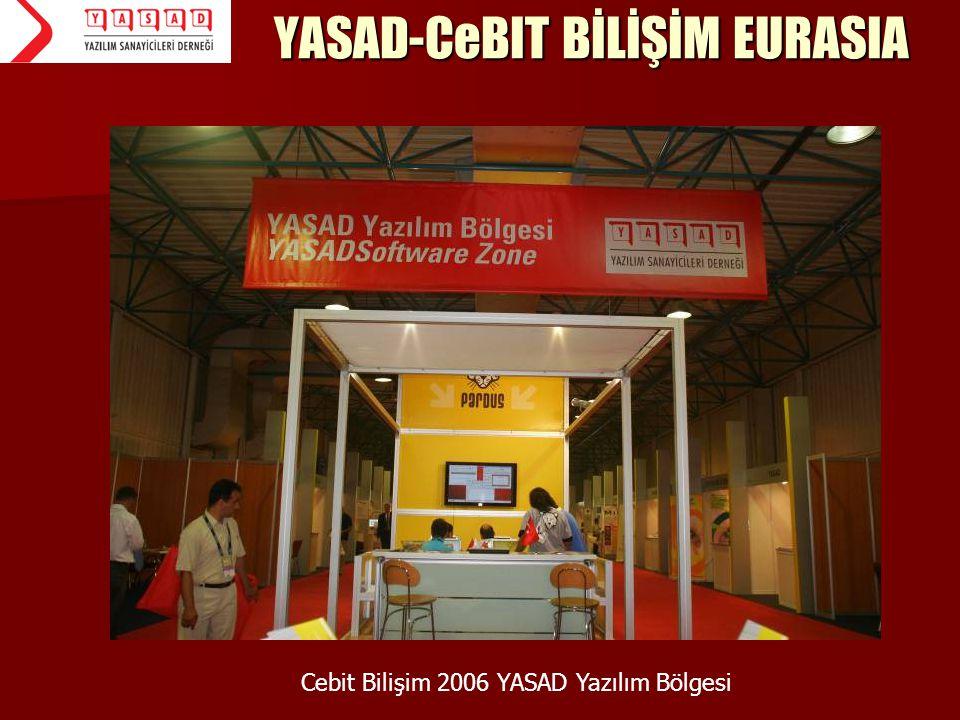 YASAD-CeBIT BİLİŞİM EURASIA Cebit Bilişim 2006 YASAD Yazılım Bölgesi