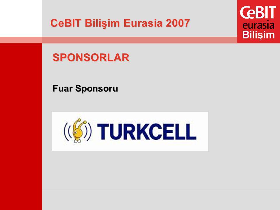 CeBIT Bilişim Eurasia 2007 SPONSORLAR Fuar Sponsoru