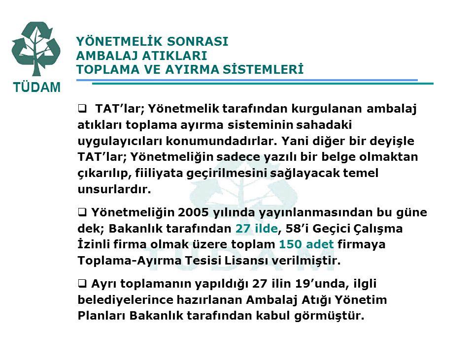 4 YILLIK SÜREÇTE YAŞANILAN SORUNLAR  Maliyetlerin İlgili Taraflarca Karşılanmamasından Kaynaklanan Sorunlar : Yaşanan sıkıntıları giderebilmesi adına;  Bölgelere göre kaynakta ayrı toplama maliyetleri detaylı bir şekilde araştırılarak Tüm Türkiye için ortalama toplama ayırma maliyetleri belirlenebilir.