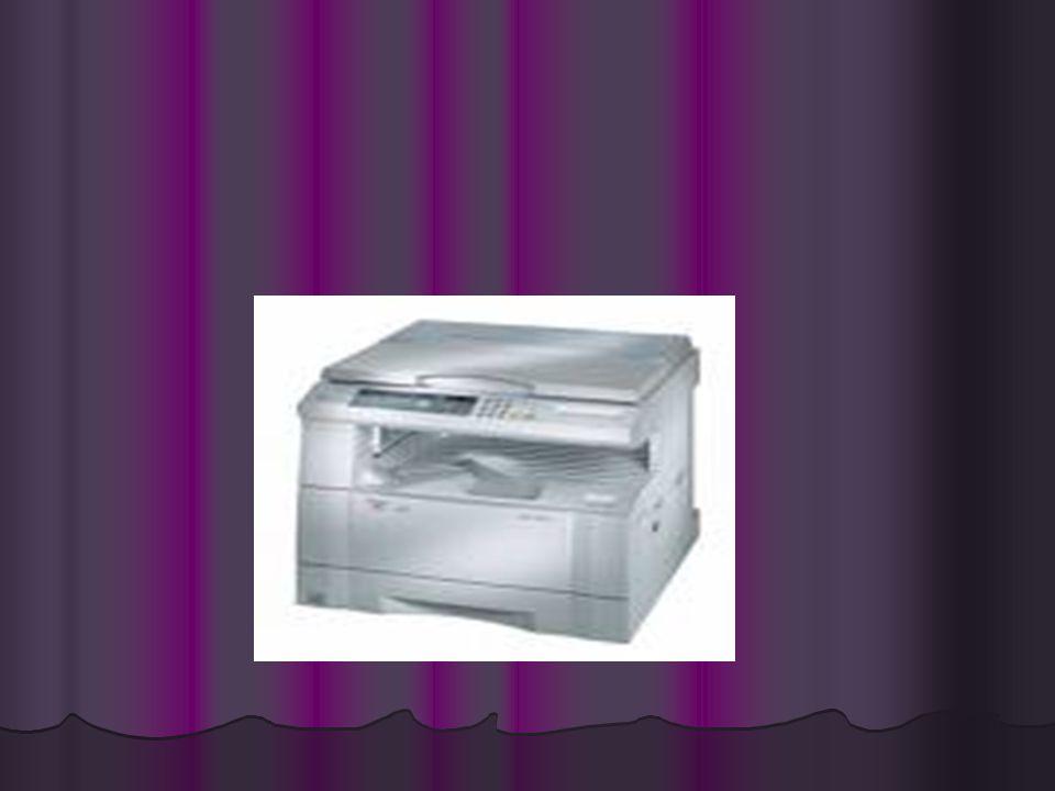 •Bugün kullandığımız fotokopi makineleri ilk olarak 1942' de Chester Carlson tarafından geliştirilmiştir. Amerikalı mucit Chester Carlson, 1938' de de