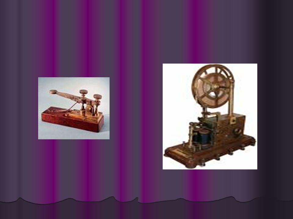 William Cooke ve Charles Wheatstone adlı iki İngiliz1837 yılında, teller üzerinden elektrik akımı göndererek mesaj iletmeyi başardılar. Böylece ilk el