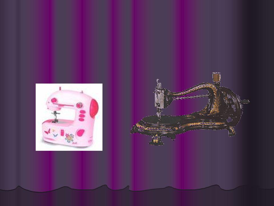 •1830' da Barthelemy Thimonnier dikiş makinesini icat etti. Makinede ayak pedalıyla döndürülen bir tekerlek, iğneyi kaldırıp indiriyordu. Fakat o döne