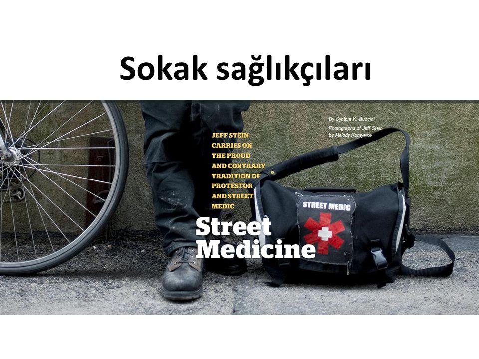 Sokak sağlıkçıları