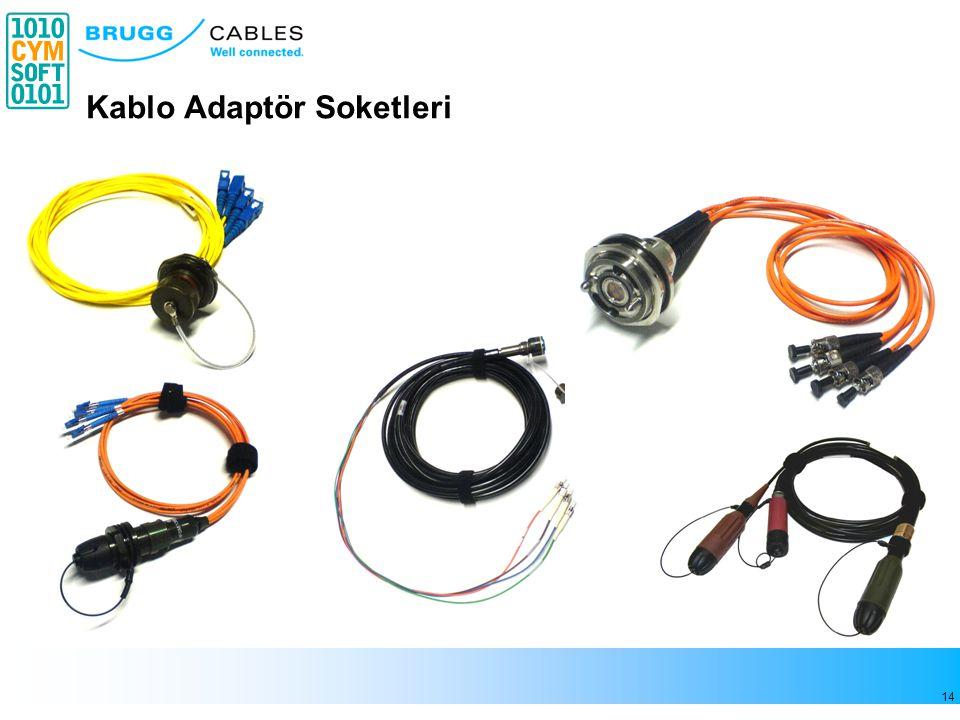 14 Kablo Adaptör Soketleri