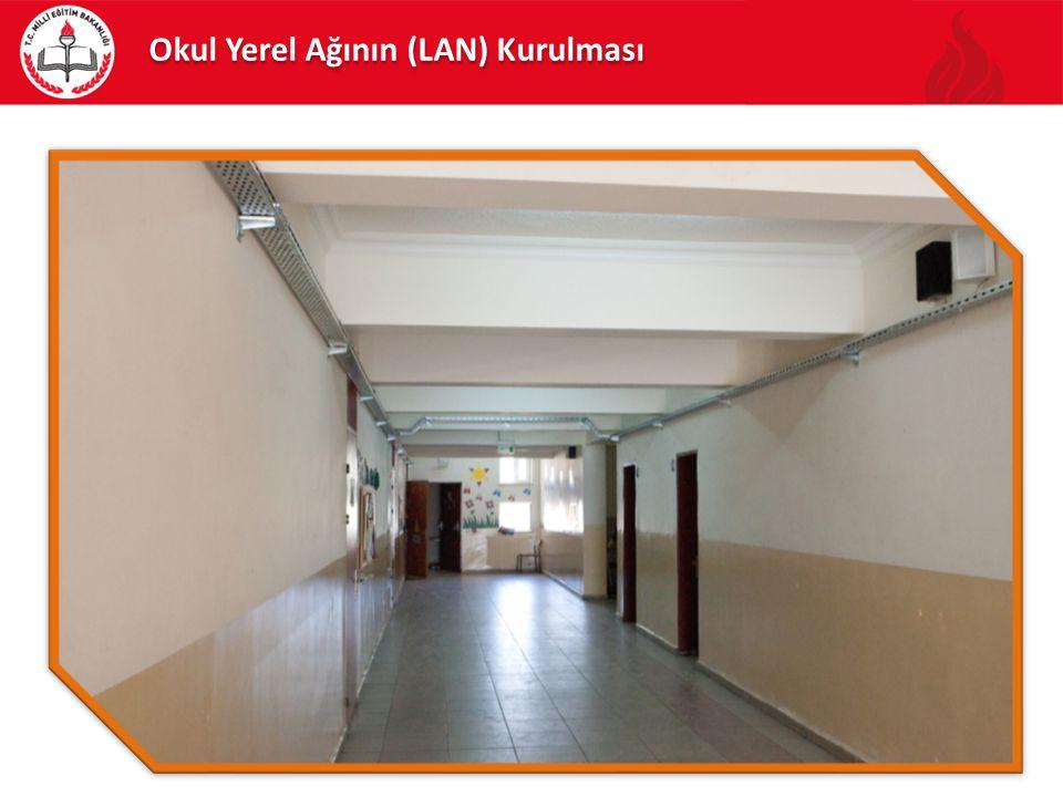 Sistem odası uygun bir yer olarak seçilmeli veya seçilen mekan sistem odası için uygun hale getirilmelidir.