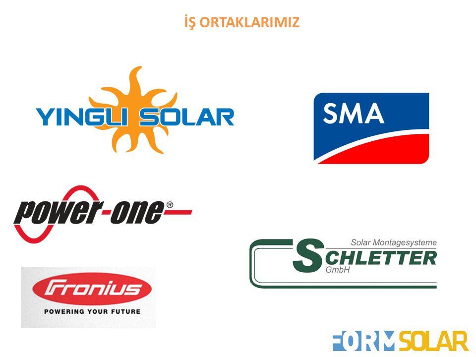 DEVAM EDEN PROJELERİMİZ • KAHRAMANMARAŞ – 500 kWp • SELÇUK BELEDİYESİ – 150 kWp • SARPHAN FİNANSKENT – İSTANBUL - 85 kWp • ÇEBİ YAPI YAZIHANE PROJESİ – İSTANBUL - 44 kWp •ANTALYA HAVAALANI – ANTALYA - 250 kWp •DALAMAN HAVAALANI – MUĞLA - 250 kWp •EYÜP BELEDİYESİ – İSTANBUL – 35 kWp •FORM FABRİKA – İZMİR- 40 kWp SON 3 AYDA TAMAMLANAN PROJELERİMİZ
