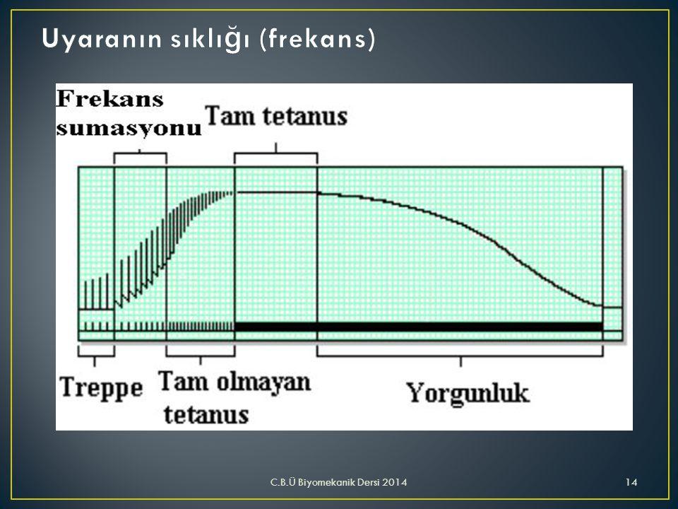 C.B.Ü Biyomekanik Dersi 201414
