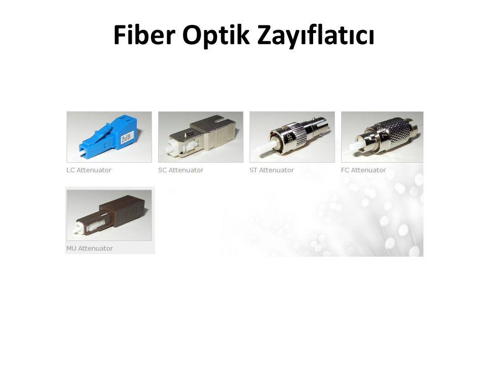 Fiber Optik Zayıflatıcı