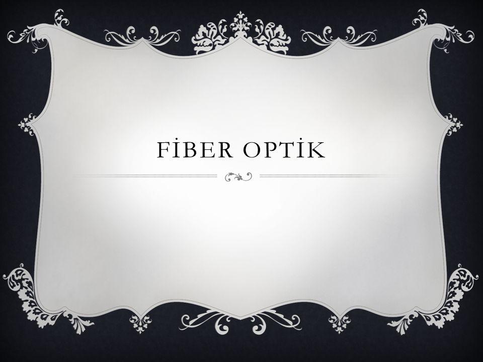 Yapısına göre fiberler 3'e ayrılır; Cam Fiberler: Nüvesi ve kılıfı camdan imal edilmektedir ve veri iletimi açısından en iyi performansı göstermektedir.