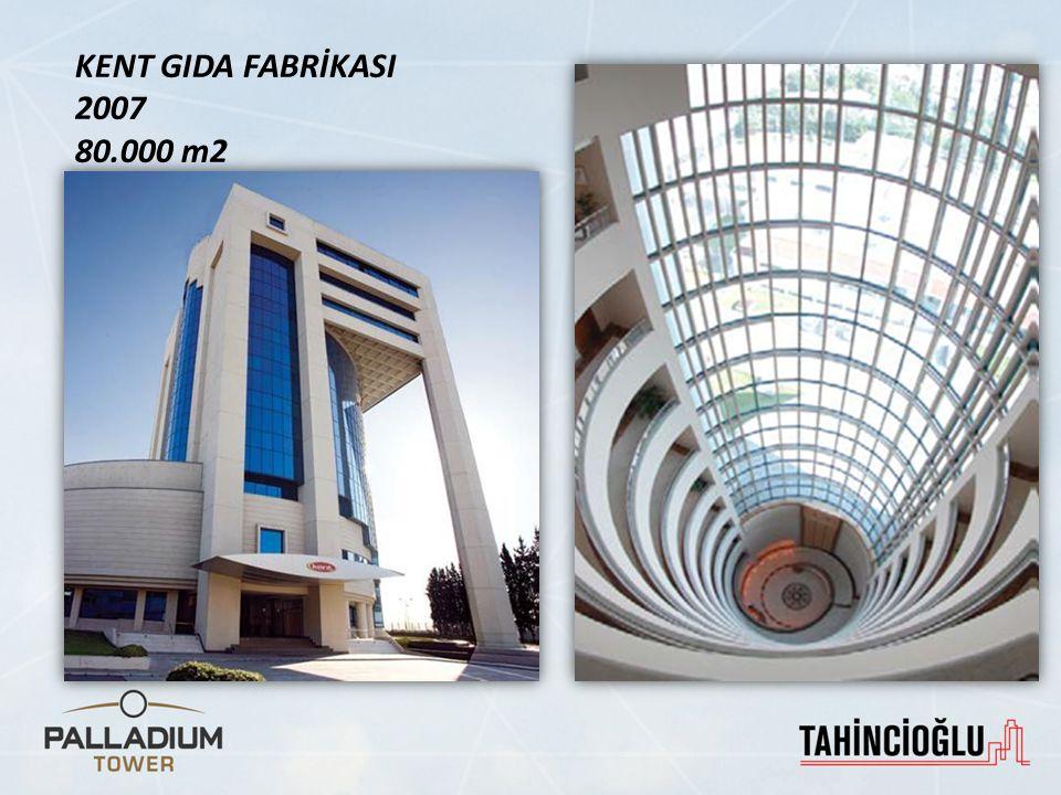 KENT GIDA FABRİKASI 2007 80.000 m2