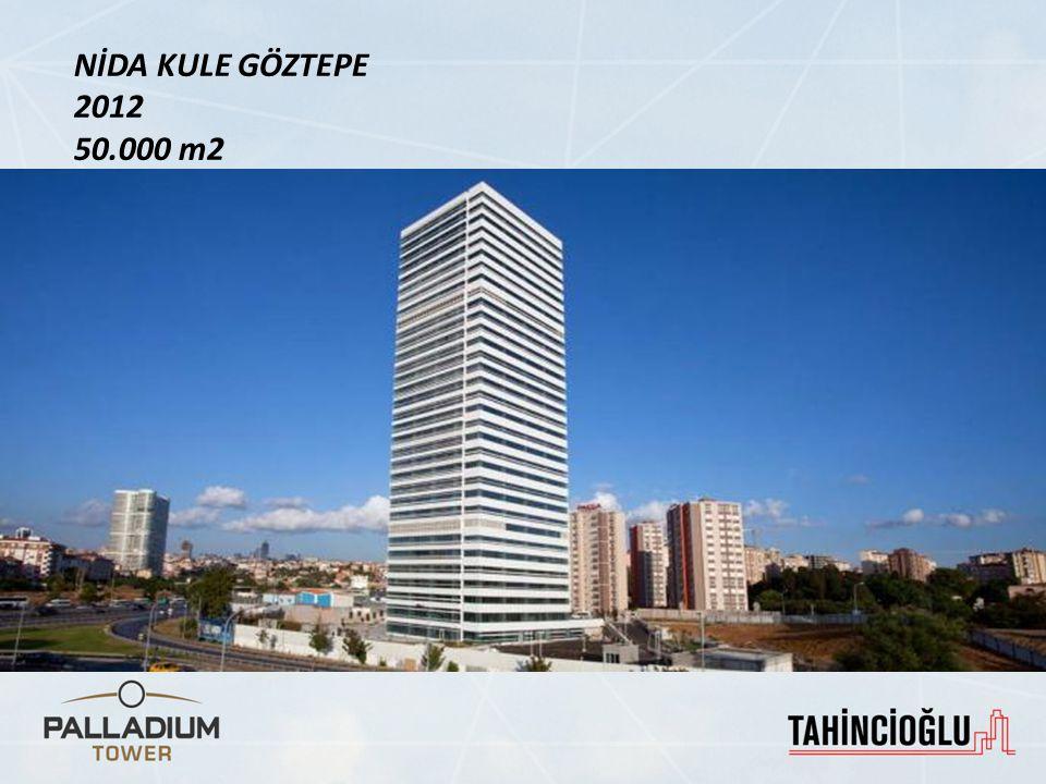 Palladium AVM ve Residence, Nidakule Kozyatağı, Nidakule Göztepe gibi 'landmark' projelerin geliştiricisi Tahincioğlu Gayrimenkul yeni bir başyapıta imza atıyor…