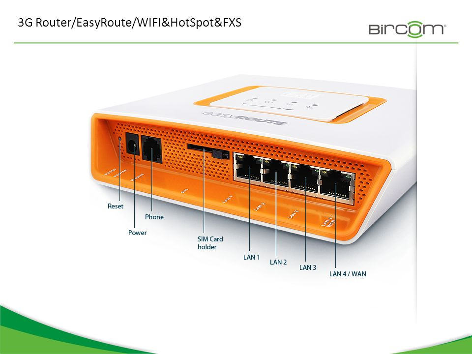 3G Router/EasyRoute/WIFI&HotSpot&FXS