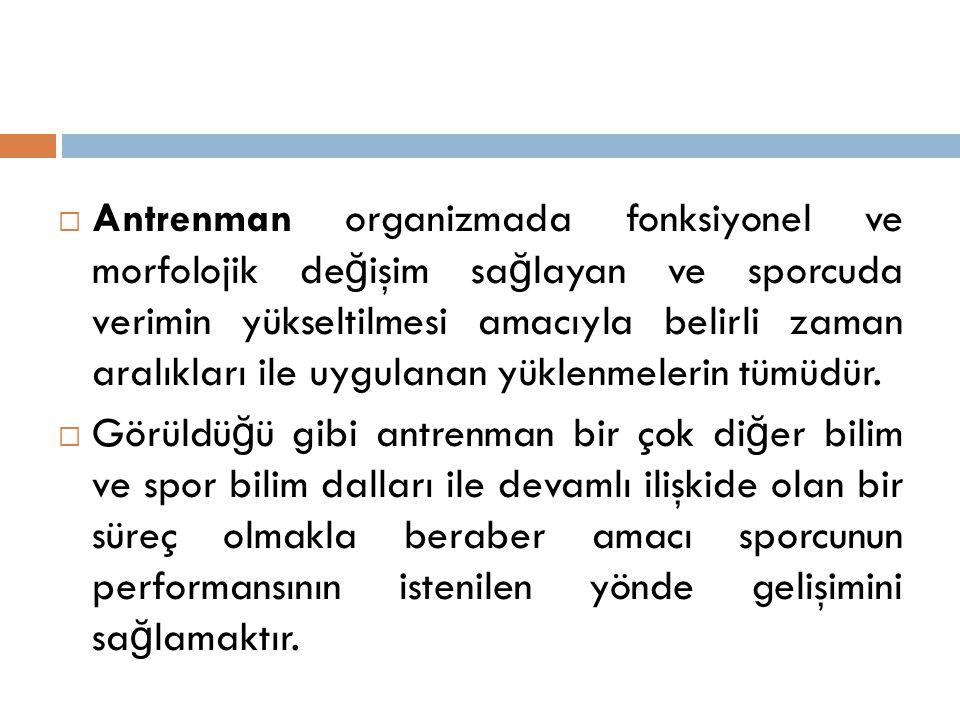 PROGRAMDA ÇALIŞMALARIN DA Ğ ILIMI  I.HAFTA  5 günde toplam 11 Antrenman yapılır.