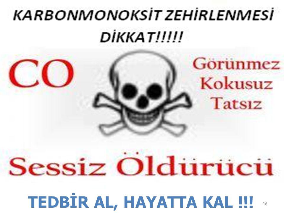TEDBİR AL, HAYATTA KAL !!! 49