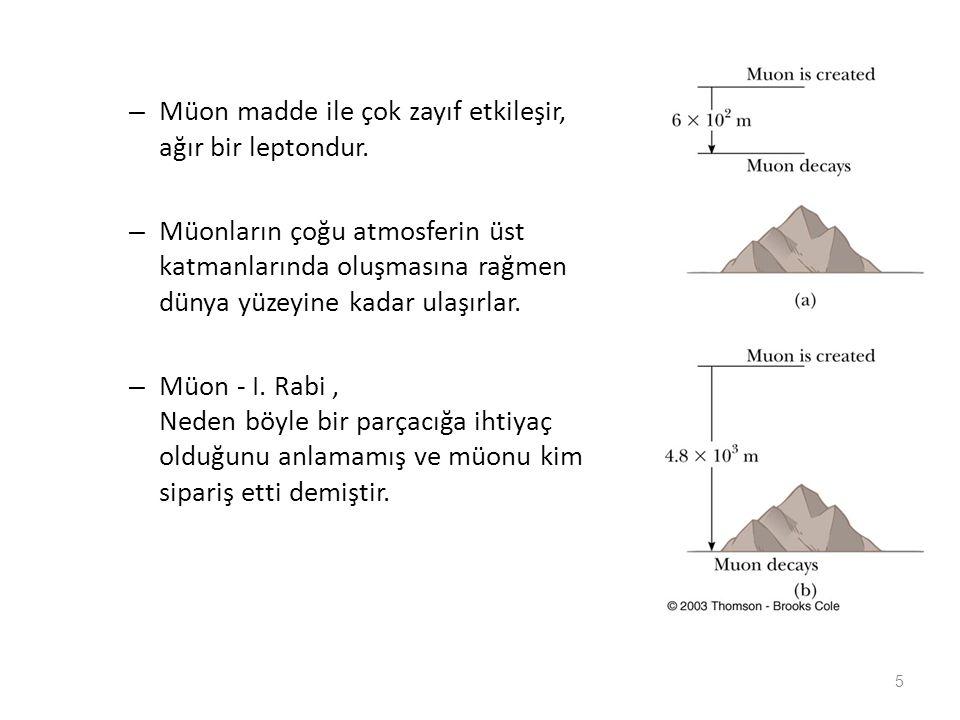 Sakata (1950) Parçacık Modeli: Q = I 3 +(S + B)/2 kullandı tüm parçacıkların p, n ve  ' nın kombinasyonlarından oluştuğunu kabul etti.