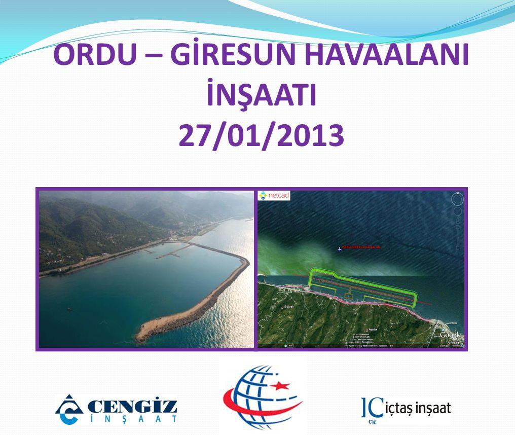  Gülyalı Balıkçı Barınağı Onarım İşi İşin Maliyeti: 415.113 TL Tamamlama Tarihi: 21/12/2012
