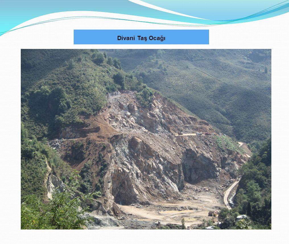 2012 YILINDA GERÇEKLEŞTİRİLEN İŞLER 6- Divani taş ocağı yolu kamulaştırması Yol Uzunluğu10X1300m Yapılan Ödeme Tutarı 423.000 TL Asfalt Maliyeti600.000.TL