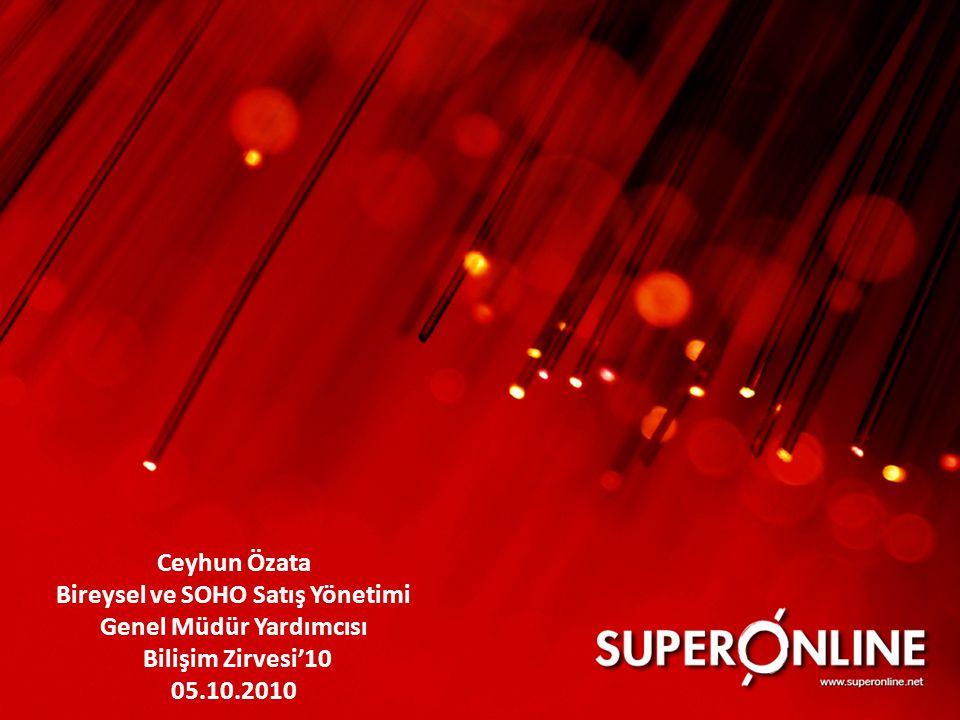 Ceyhun Özata Bireysel ve SOHO Satış Yönetimi Genel Müdür Yardımcısı Bilişim Zirvesi'10 05.10.2010