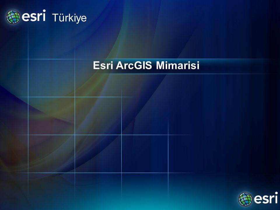 Esri ArcGIS Mimarisi Türkiye
