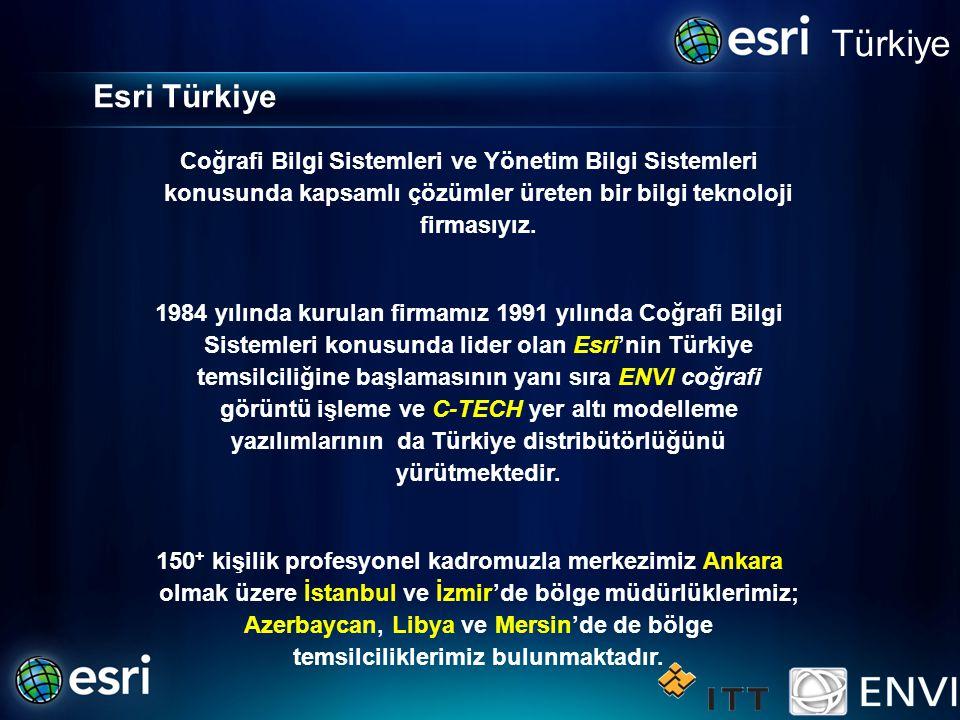 Türkiye Coğrafi Bilgi Sistemleri ve Yönetim Bilgi Sistemleri konusunda kapsamlı çözümler üreten bir bilgi teknoloji firmasıyız.
