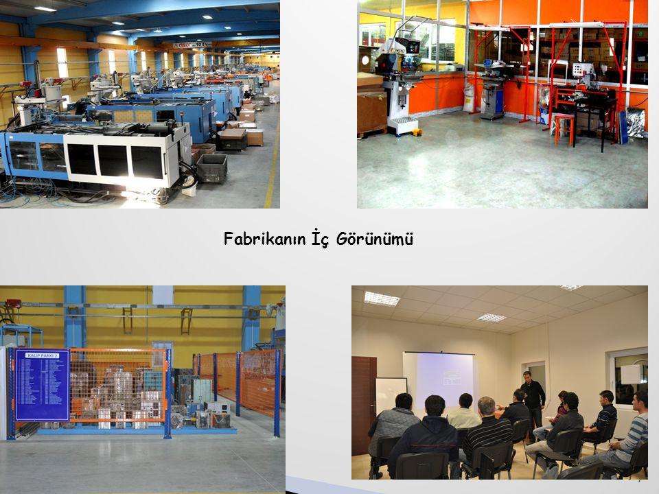 8 HAKKIMIZDA(..devamı)  Şirketimiz bünyesinde, 12'u beyaz 165'si mavi yaka olmak üzere toplam 177 personel çalışmaktadır.