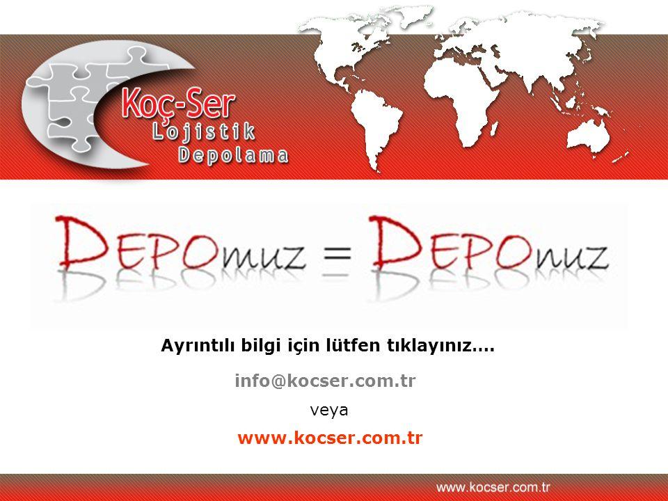 Ulaşım Depomuz İzmir limanına 17 Km mesafede olup şehir trafiğine girmeden depomuza ulaşım sağlanmaktadır.