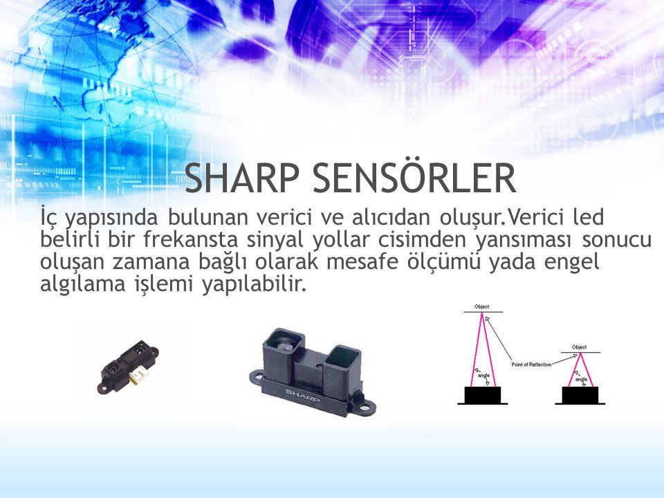 Alıcı ve verici kısımlardan oluşurlar.Verici belirli bir frekansta ses sinyali yollar ve bu yollanan sinyalin algılanmasında geçen süreye bağlı olarak mesafe ölçümü ve engel algılama işlemleri yapılır.