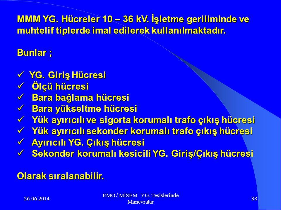 26.06.2014 EMO / MİSEM YG. Tesislerinde Manevralar 37